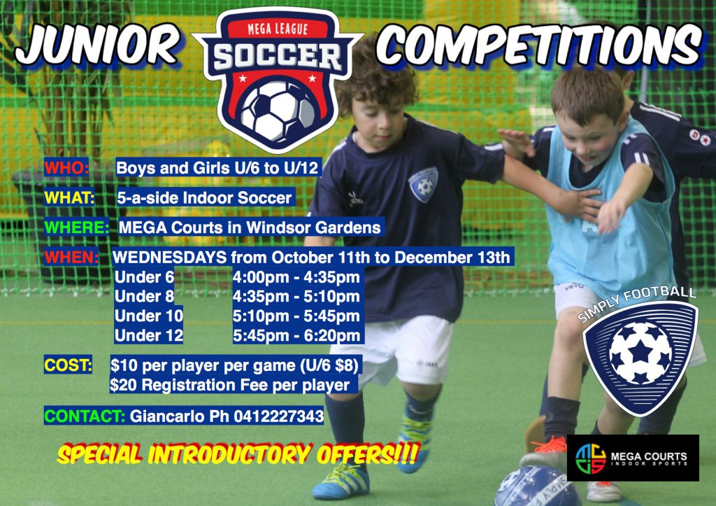 Mega Courts Soccer Junior Competition