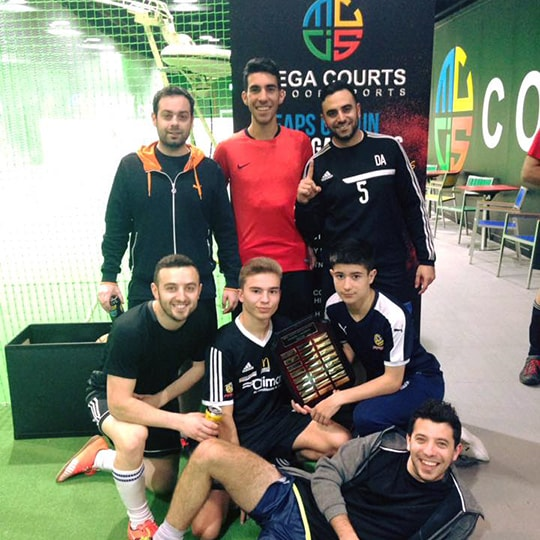 Senior Futsal League Winter 2017 Division 1 Winners