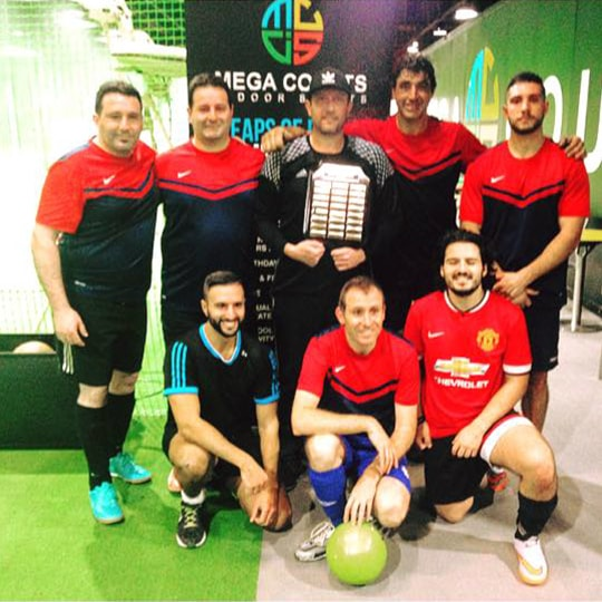 Senior Futsal League Winter 2017 Division 2 Winners