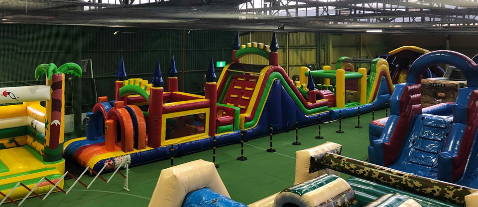 Not Just Jumping Castles | Mega Courts Indoor Sports